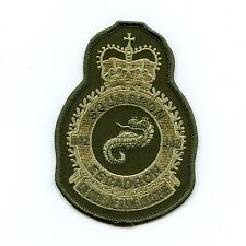RCAF CAF Canadian 442 Squadron Heraldic OD Crest Patch