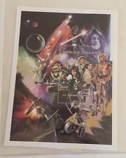 STAR WARS POSTAGE STAMPS TRILOGY Empire Strikes Back Return Of The JEDI w/COA