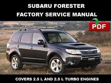 SUBARU FORESTER 2009 FACTORY WORKSHOP REPAIR MANUAL + WIRING DIAGRAM