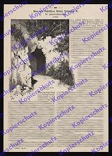 Aßmus Märchenkönig Ludwig II. Linderhof Wald-Eingang Grotte Romantik Poesie 1886