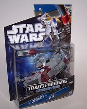 Star Wars Transformers Crossovers Captain Rex AT-TE Clone Trooper Rare NIP