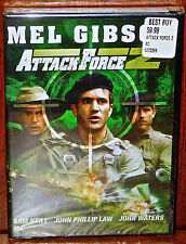 Attack Force Z DVD Mel Gibson Out Of Print OOP MOVIE TITLE Sealed New