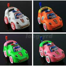 Colorful Classic Boy&Girl Vehicle Kids Child Toy Mini Small Pull Police Car L5RG