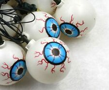 Halloween Props Scary Eyes 16pcs LED String Lamps Festival Party Decorations