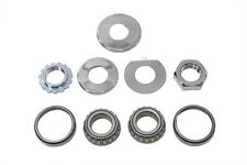 Fork Neck Cup Bearing Kit Harley 49-99 Panhead Shovelhead Evolution Softail