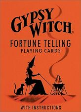 Gypsy Witch Fortune Telling Playing Cards- Cards by Marie Anne Adelaide Lenorman