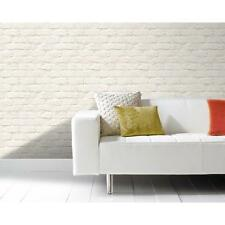NEW GRANDECO IDECO PAINTED BRICK WALL PATTERN FAUX EFFECT MOTIF WALLPAPER A10402