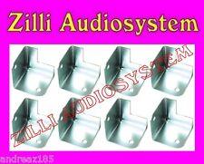 AZ AUDIOCOMP MC 10 Angolari in metallo per protezione casse acustiche 8 PEZZI
