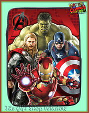 MARVEL COMICS AVENGERS IPAD MINI TABLET 3D COVER / CASE BNWT HULK THOR IRON MAN