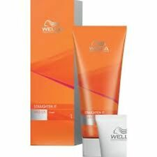 WELLA WELLASTRATE Straighten It Straightening Cream and Neutralizer Hair Mild