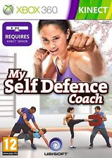 XBOX 360 KINNECT game ***** MY SELF DEFENCE COACH ***** new sealed