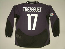 TREZEGUET JUVENTUS 3RD match issued ML-LS 2003-2004 LEGA CALCIO