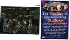 THE MASTERS OF JAPANIMATION - Bonus Box Topper Chase Card 0 - Gall Force