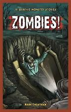 Zombies! (JR. Graphic Monster Stories)-ExLibrary