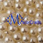 2000pcs Cream Ivory 2.5mm Flat Back Half Round Resin Pearls Nail Art Gems C14