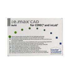 IVOCLAR VIVADENT IPS E.MAX CAD CEREC LT A2 / I12 5 BLOCKS EMAX