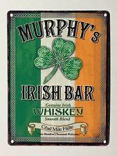 Murphy's Irish Bar SML - Tin Metal Wall Sign