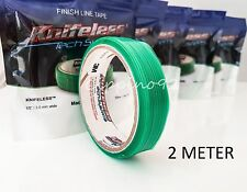 2m KNIFELESS TAPE FINISH LINE OHNE CUTTER FOLIEN SCHNEIDEN WRAPCUT