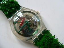 1997  Swatch Watch Garden Turf SKZ103 Collector Club # 7 SKZ103
