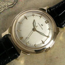 Mens MINT 1955 Hamilton 18j USA Vintage STORM KING IV 748 Caliber 10K YGF Watch