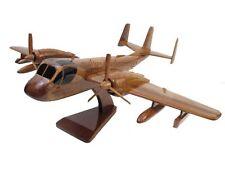 Grumman OV-1 RV-1 Mohawk Army Wood Wooden Observation Military Airplane Model