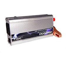 INVERTER INVERTITORE  1500W 12V 220V CON USB TRASFORMATORE PER CAMPER AUTO BARCA
