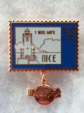 Hard Rock Cafe Pin Nice I Was Here Stamp Series 2015