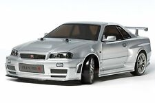 Tamiya tt-02d Skyline Gt-r z-tune R34 Drift Car Kit 58605