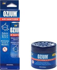 OZIUM Original Scent Smoke/Odors Eliminator Air Freshener 4.5 oz Gel & 3.5 Spray
