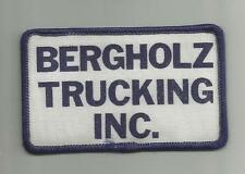 VINTAGE BERGHOLZ TRUCKING COMPANY INC  TRUCK DRIVER PATCH FREIGHT