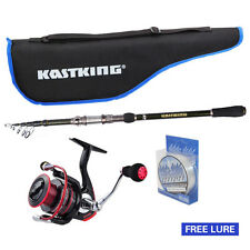 KastKing Spinning Fishing Rod And Reel Combo Package Saltwater Freshwater Kit