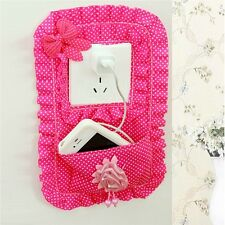 Fabric Switch Stick With Pocket Socket Sets Mobile Phone Household Decor Tool