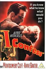 I Confess [1953] [DVD] Montgomery Clift, Anne Baxter, Alfred Hitchcock New