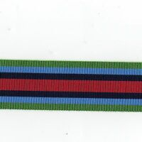 Medal Ribbon. O.S.M. Sierra Leone . Full Size. Sold in 6 inch Lengths