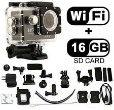 HD Car Bike Helmet Cam Sports DV Action Waterproof Camera SJ4000 ACC Fit GoPro