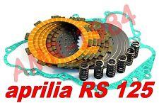 DISCOS EMBRAGUE MODIFICA KEVLAR APRILIA RS 125 + SELLO SUAVE 0239625 F1411SR