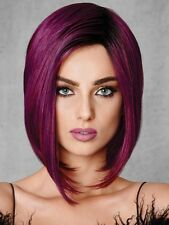 Midnight Berry Fashion Fantasy Wig by Hairdo, HD, Deep Purple, Angled Bob