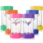 High Quality Large Size 16cm Sand Timer Egg Timer 1, 2, 3, 5, 15 Minute 1pc