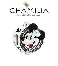 Genuine CHAMILIA 925 sterling silver Disney PORTHOLE MICKEY MOUSE charm bead