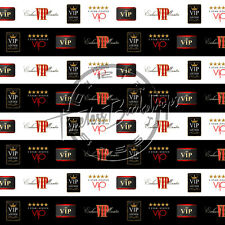 10ftx10ft Digital Printed Background (VIP STEP & REPEAT #3) TimelessBackdrops