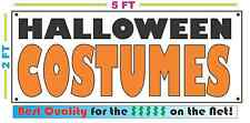 Full Color HALLOWEEN COSTUMES BANNER Sign NEW Larger Size Best Quality for the $