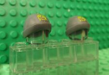 2 Lego Mini Figure Fig Headgear Hat Cap Ski Beanie Brick Graffiti  90541pb01