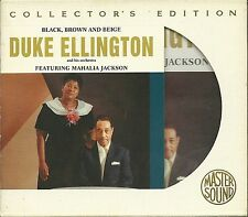 Ellington, Duke feat. M. Jackson Black, Brown and Beige master sound Gold CD sbm
