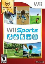 Wii Sports (Wii Nintendo Selects, Exercise, Games, Multiplayer, Golf Tennis) NEW
