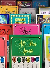1500 TRIVIAL PURSUIT CARDS (20+ Editions - YOU PICK) 15 Different 100-Card Decks