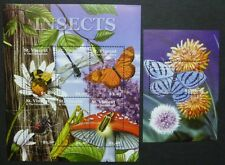 St. Vincent 2001 Insekten Spinnen Insects Spiders 5437-42 + Bl.574 ** MNH