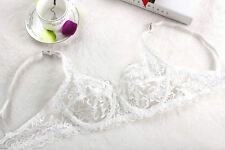 Summer Style Sexy's Full Lace Breathable No pad Bra women bra 32 34 38 40 BC Cup