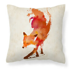 Animal artistic cushion cover/throw pillow sofa/couch/bedroom - Red Abstract Fox