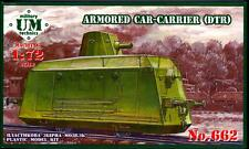 UM-MT Models 1/72 ARMORED TRAIN CAR CARRIER (DTR)