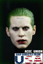 1/6 Joker Head Sculpt Jared Leto Suicide Squad Batman For Hot Toys U.S.A. SELLER